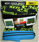 "Toy Story Pizza Planet Men's Boxer Brief S 28-30"" ultra soft breathable New"