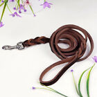 1 PcsBraided Leather Dog Lead Training Dog Leash Best For German Shepherd 1.5-3M