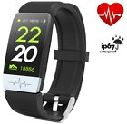 BEST Fitness Tracker IP67 ECG PPG Smart Watch Blood Pressure Heart Rate Monitor