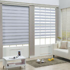 White Zebra Roller Blind Day and Night Window Blind Shade