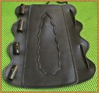 Archery Leather Arm Guard Stage Horn Buttons ARCHERS ARM BRACER, Horn Buttons