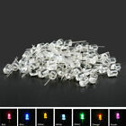 10mm LED Multi Colour Waterclear Ultrabright Light Emitting Diode Lamp Round