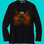 New GOJIRA Heavy Metal Rock Band Men's Black Long Sleeve T-Shirt Size S-3XL image
