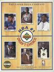 1991 Limited Edition Collector Series Sheets Brad Daugherty Danny Manning Rookie on eBay