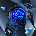 SKMEI Men Camo Waterproof Digital Fashion Luminous Watches Boys Girls Colorful image