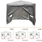 Pop Up Gazebo 2x2 2.5x2.5 3x3 m Outdoor Marquee Canopy Garden Party Wedding Tent