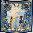 NWT-Authentic-Hermes-Silk-Scarf-Le-Canada-35x35-Carre-90
