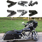 "Motorcycle Handlebar Hand Grips 1"" For Harley-Davidson Street Glide Special CVO $35.57 USD on eBay"