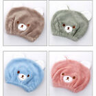 Animal Embroidery Hair Dryer Hat Shower Cap Drying Soft Children Dry Hair Towel