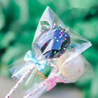 5 Sizes Clear Open Top Lay Flat Poly Bags Candy Cookies Packaging Cellophane Bag