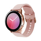 For Samsung Galaxy Watch Active 2 42 40 44mm Sport Silicone Band Bracelet Strap