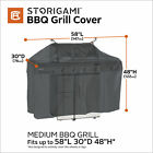Classic Accessories Storigami Easy Fold BBQ Grill Cover, 58