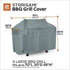Classic Accessories Storigam Easy Fold BBQ Grill Cover, 70