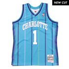Baron Davis Charlotte Hornets Hardwood Classics Throwback NBA Swingman Jersey on eBay