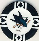 San Jose Sharks NHL Hockey Poker Chips Card Guards (Post 2007) Various Colours $1.0 CAD on eBay