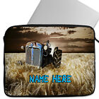 Personalised Laptop Case Tractor Tablet Cover Farm Sleeve Universal Bag Gift
