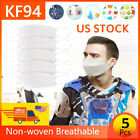 Kyпить lot 1-100pcs KF94 Face 4 Layer Non-woven Breathable Anti Dust Mouth Covers US на еВаy.соm