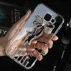 Luxury Bling Glitter Bowknot Diamond Case Sparkle Crystal Clear Back Phone Cover