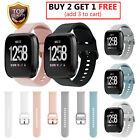 Kyпить For Fitbit Versa 1 2 Lite Replacement Silicone Rubber Watch Band Strap Wristband на еВаy.соm