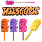Telescopic Extendable Magic Microfibre Cleaning Feather Duster Extending Brush*