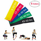 Resistance Stretch Loop Band Gym Yoga Fitness Exercise Elastic Rubber Rope Strap image