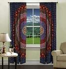 Diyana Impex Indian Mandala Curtain Kitchen Window Curtains Curtain  Valance Se
