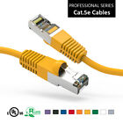 Cat5E Shielded (FTP) Ethernet Network Professional Series Booted Cable Lot