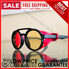 Mens Sunglasses Steampunk Side Shields Summer Style Leather Round Retro UV 400
