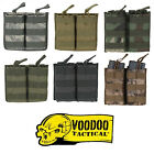 Voodoo Tactical MOLLE PALS Modular Universal Double Rifle Magazine Carrier Pouch