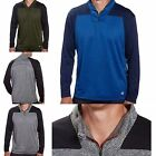 CHAMPION ELITE MENS DOUBLE DRY ACTIVE 1/4 ZIP PULLOVER M-XXL Cobalt Charcoal Mos
