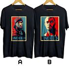 THE WIRE Omar Little Indeed HBO Drama TV Series T-shirt Cotton 100% USA Size image