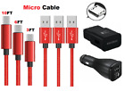 3/6/10Ft Fast Charger Micro Usb Cable Cord For OEM LG STYLO 2 3 G4 K20 K30 K40