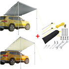 Car Side Awning Rooftop Sun Shade SUV Outdoor Tent Fishing Yard Home BBQ Shelter