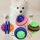 PETS DOG PUPPY UFO LEAKAGE FOOD CONTAINER MOLAR INTERACTIVE CHEW TOY