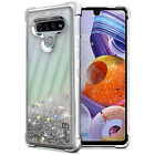 For LG Stylo 6 Case Glitter Bling TPU Rubber Slim Clear Shockproof Phone Cover
