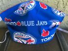Toronto Blue Jays MLB Fabric Face Mask Cover Mens Women's Kids FREE SHIPPING on Ebay