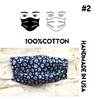 Face Masks Homemade 100% Cotton Made In USA Washable