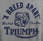 ⭐NWT⭐Lucky Brand Men's Triumph Breed Apart Motorcycle Drag Strip Gray T-Shirt $19.75 USD on eBay