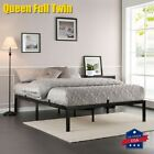 Queen Full Twin Size Metal Platform Bed Frame Heavy Duty Mattress Foundation