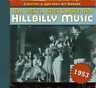 COUNTRY & WESTERN HIT PARAD...-1953-DIM LIGHTS THICK SMOKE & HILBILLY MUS CD NEW