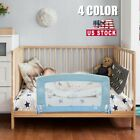 Safety Bed Rail 35''/60''x20'' Toddler Kids Swing Down Guard Child Safety 4Color