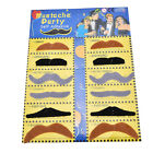 Novelty Black And Colorful Fake Mustaches Funny Toy For Boys Girls And T EH