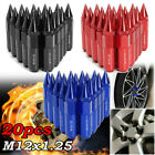 20pcs M12X1.25 Aluminum Spiked 60mm Car Extended Tuner Wheels / Rims Lug Nuts US $30.95 USD on eBay