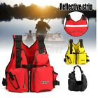 Adult Aid Life Jacket Kayak Water Safety Vest Fishing Surfing Boating Swimming