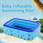 Large Family Swimming Pool Garden Outdoor Summer Inflatable Kids Paddling Pool
