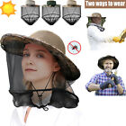 Mosquito Head Face Net Hat Sun Cap Boonie Hat Bug Protection Hidden beekeeping