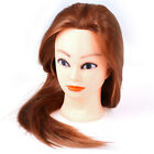 Professional Manequin head Human Hair Barber Practice Hairstyle Hairdresser C Ho