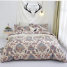 Paisley Duvet Cover Set Queen Bedding Boho Chic Mandala Pattern Printed Comforte