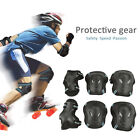 US Adult Kids Protective Gear Set Knee Elbow Pads Wrist Guards Safety Protection image