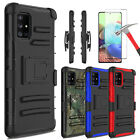 For Samsung Galaxy A71 5g,a51 5g Case Stand Holster Belt Clip / Screen Protector
